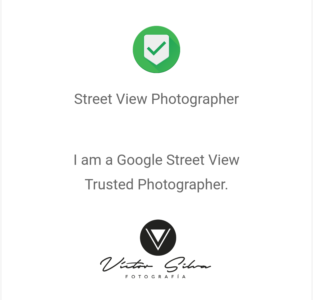 StreetView Photographer